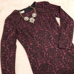 Maggy London Jacquard Dress 👗